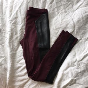 BP FAUX Leather Leggings